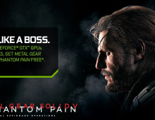 Nvidia Bagi Bagi Game Metal Gear Solid V: The Phantom Pain Untuk Gamers PC